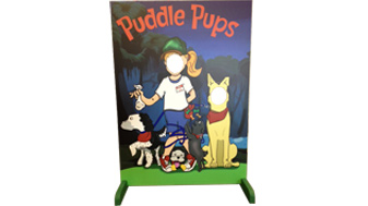puddle pups customcut customsigns