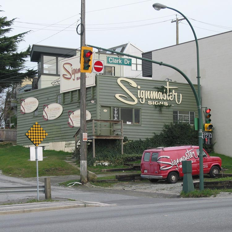 Old Signmaster Signs Building